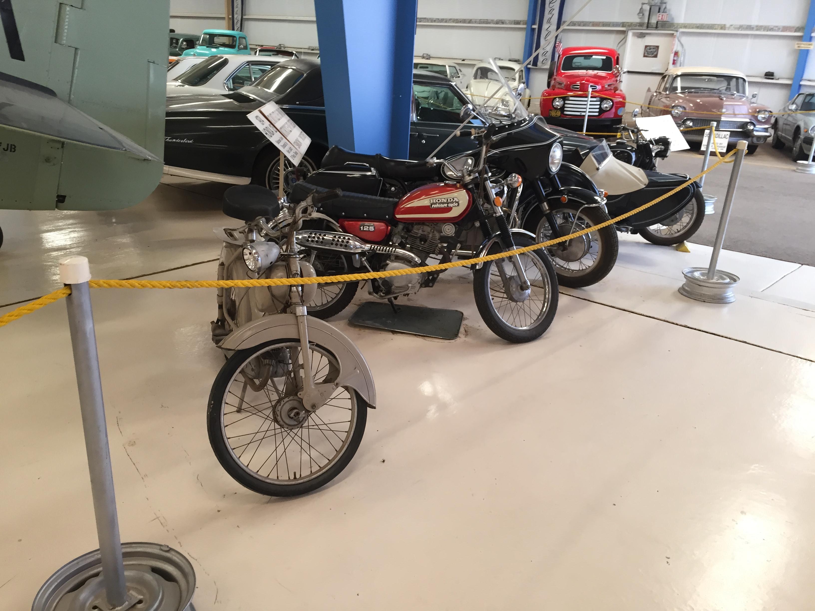 Vintage motorcycles!