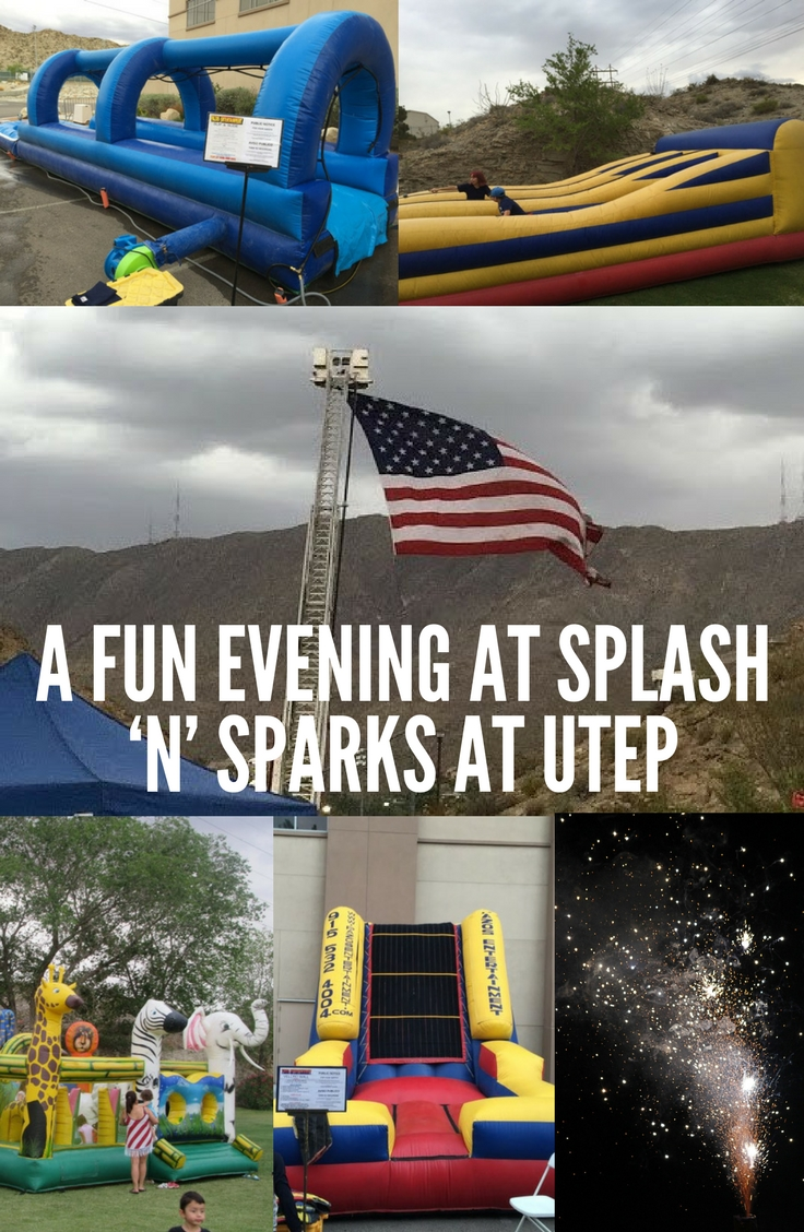 A fun evening at the Annual Splash n Sparks at UTEP