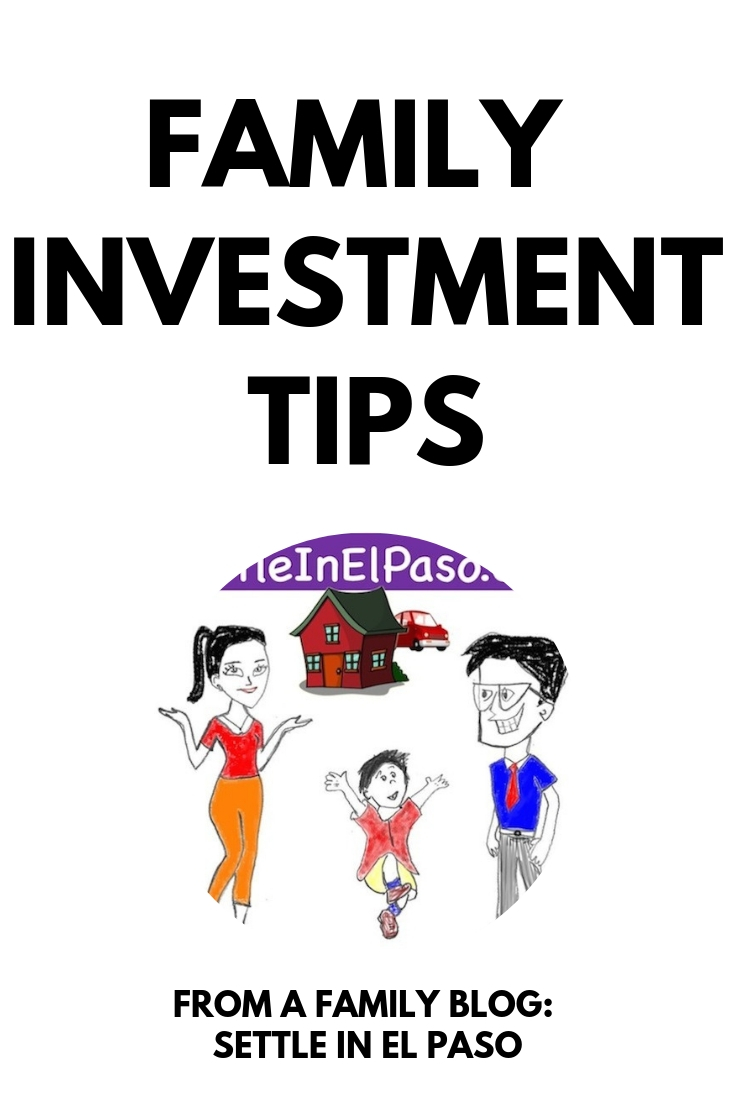 Family Investment Tips. The post discusses some family friendly ideas to invest and grow money. #StockMarket #Robinhood #Stocks #Investment #Money #Family #MoneyPlanning #FamilyInvestment