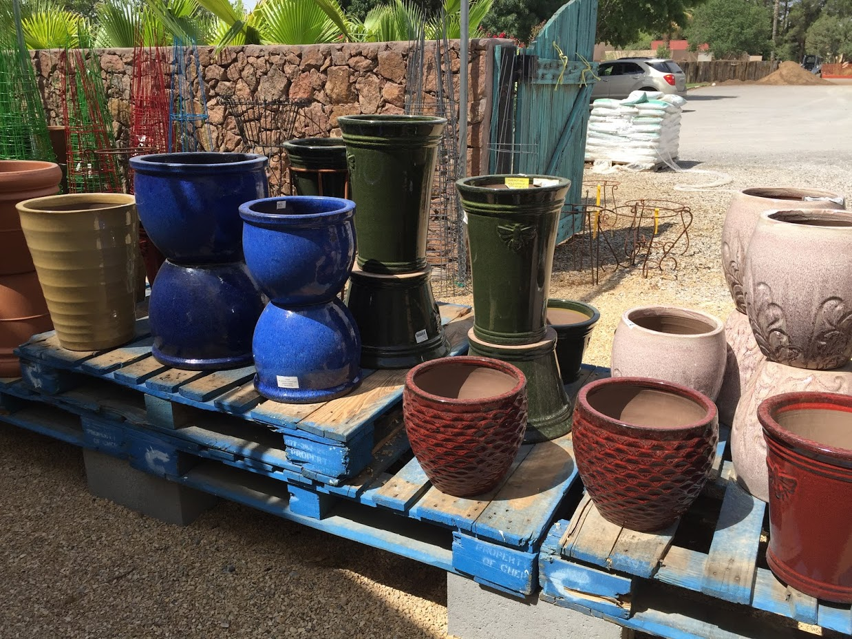 Nice planting pots!