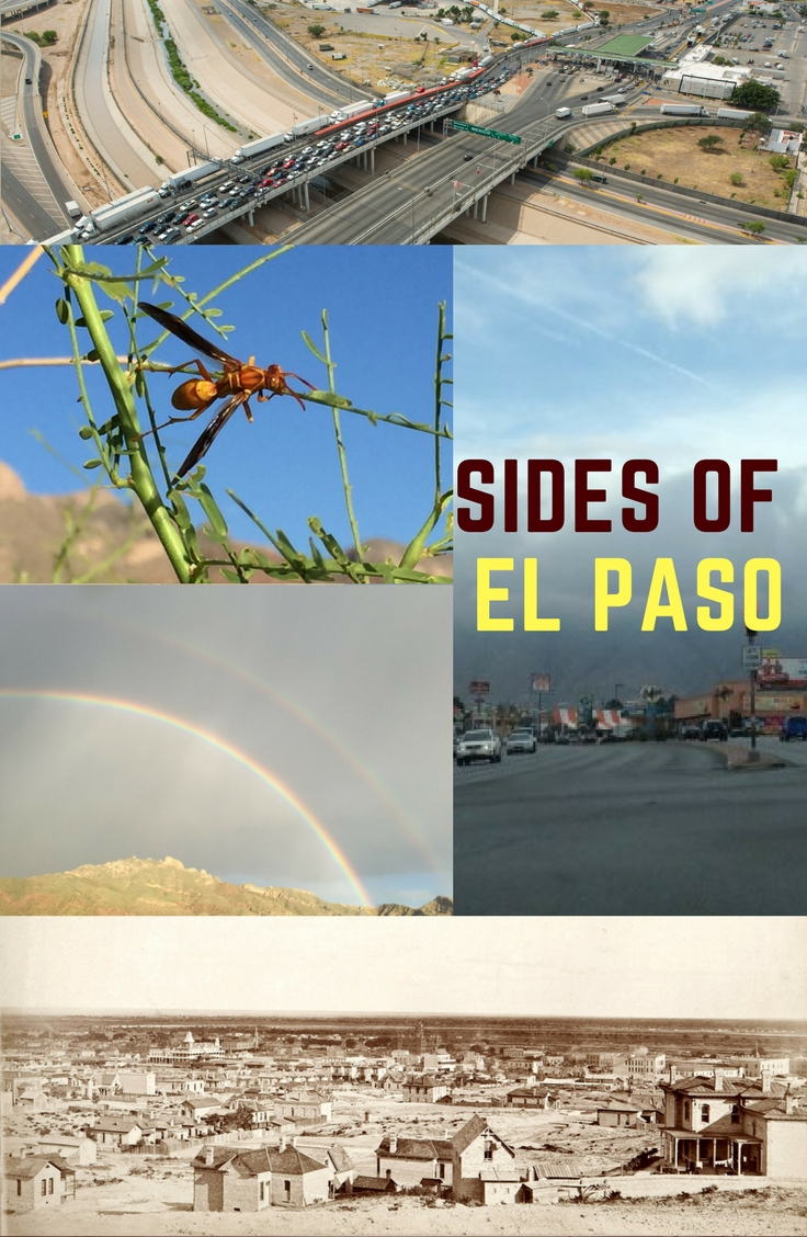Sides of El Paso: East side, West side, Northeast, Upper Valley, Lower Valley, and Central El Paso.