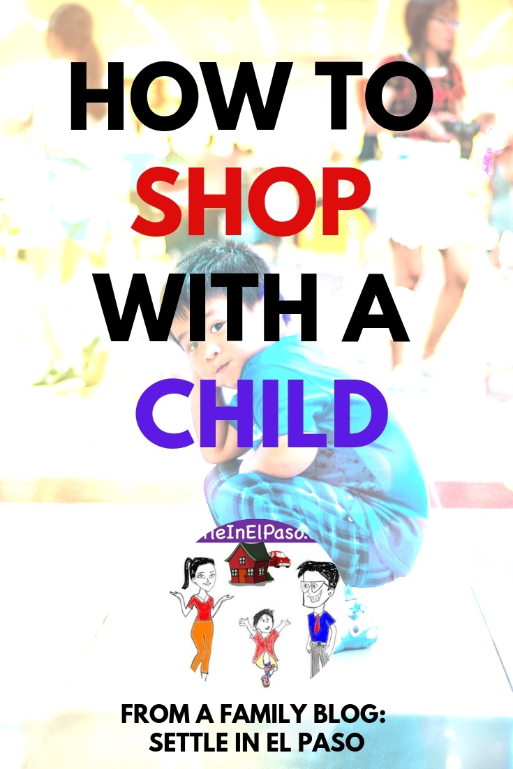 Shopping with a child need not be hard. With little preparation, parents can make shopping a great experience, or at least a manageable task. #parenting #children #toddler #forkids #formoms #family