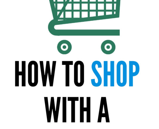 Shopping with a toddler or a small children can be difficult sometimes. With little preparation, shopping with children can become fun. #parenting