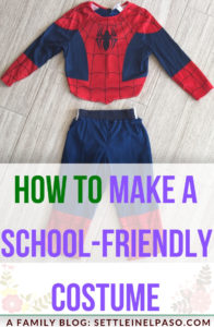 How to make a school-friendly halloween costume. #costume #halloween