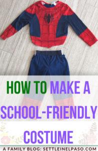 How to make a school-friendly halloween costume. #costume #halloween