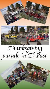 Thanksgiving parade in El Paso
