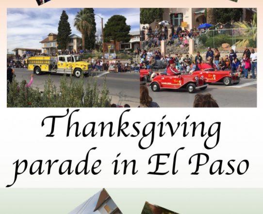 Thanksgiving parade in El Paso