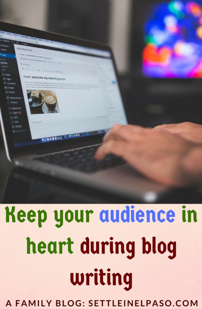 Keeping convenience and psychology of audience in mind is important to make sure that there is a synergy between the audience and the blogger. #blogging #blogpost #blogwriting #writing
