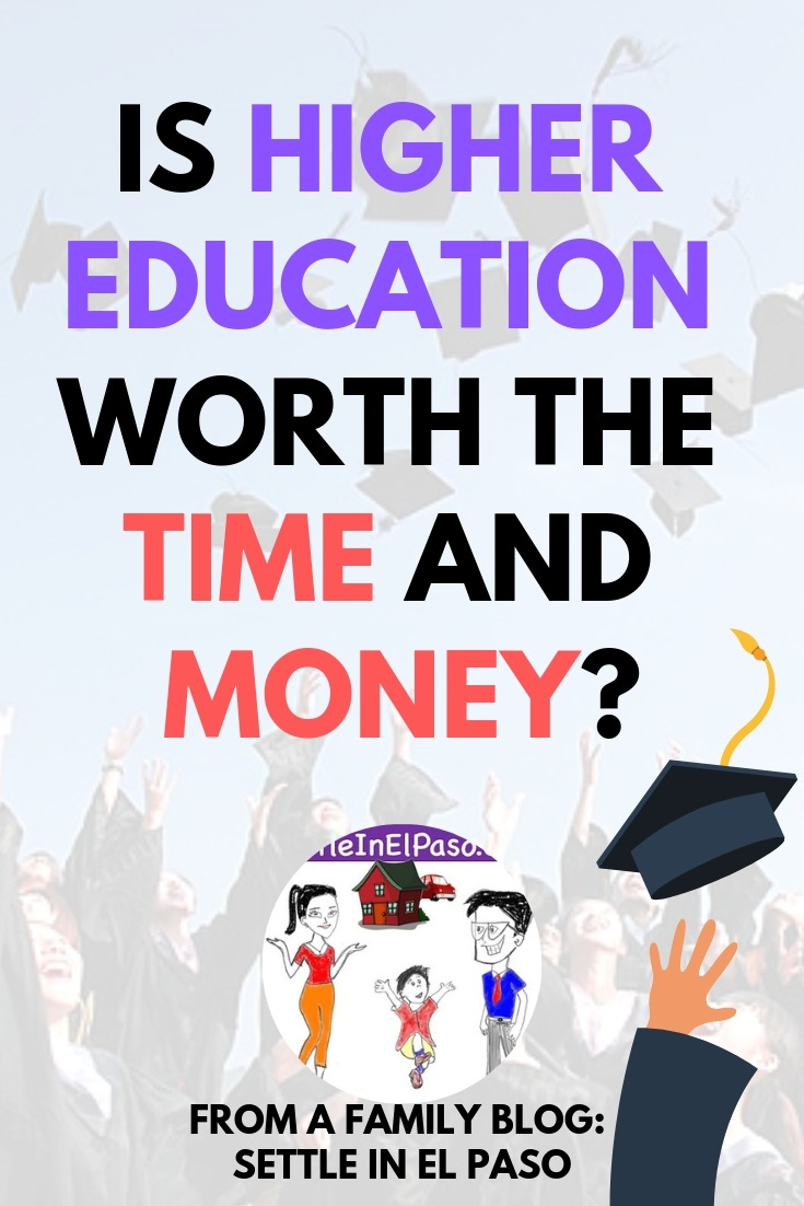Is higher education worth the time and money? #education #higherEducation