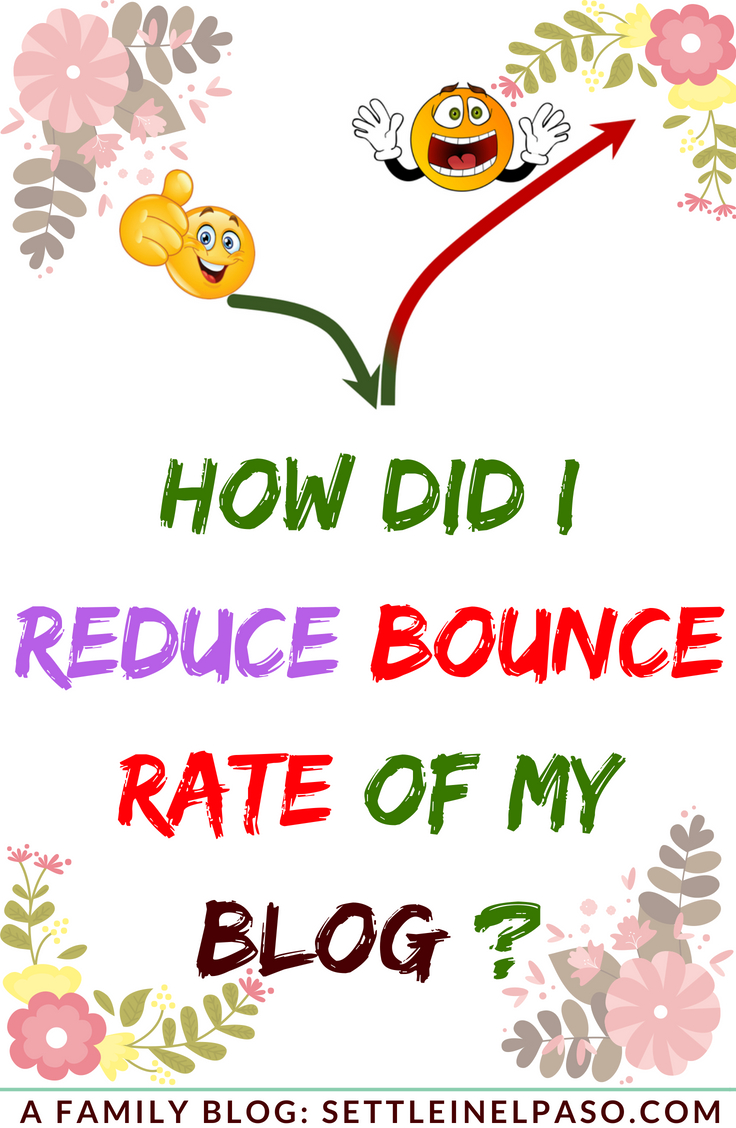 The post describes how can one reduced bounce rate of a blog site. #bouncerate #blogging #bloggingtutorial