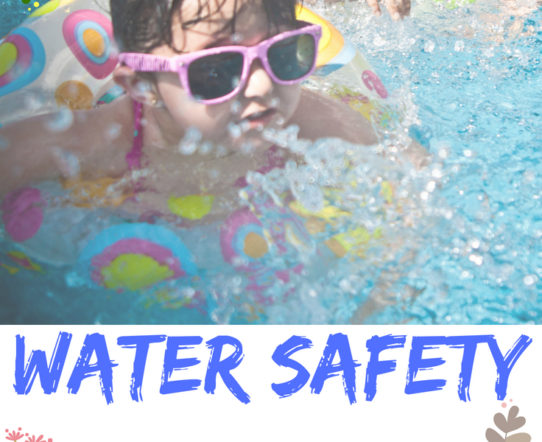 Water safety is crucial for kids. Constant supervision and training is required to ensure safety. #safety #watersafety #familyfun