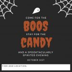 Come for boos stay for candy