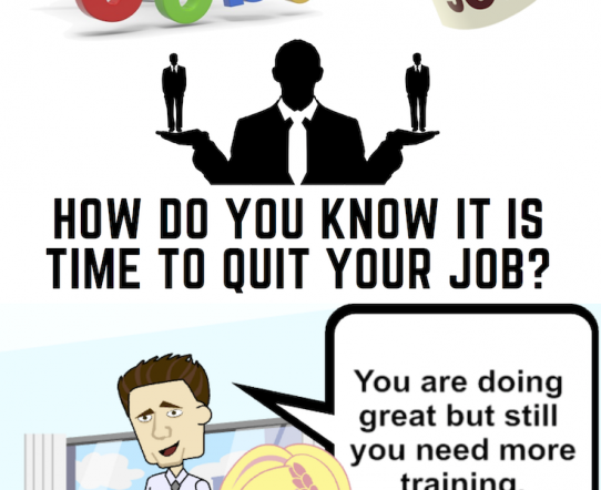 Ho do you know it is time to quit your job?