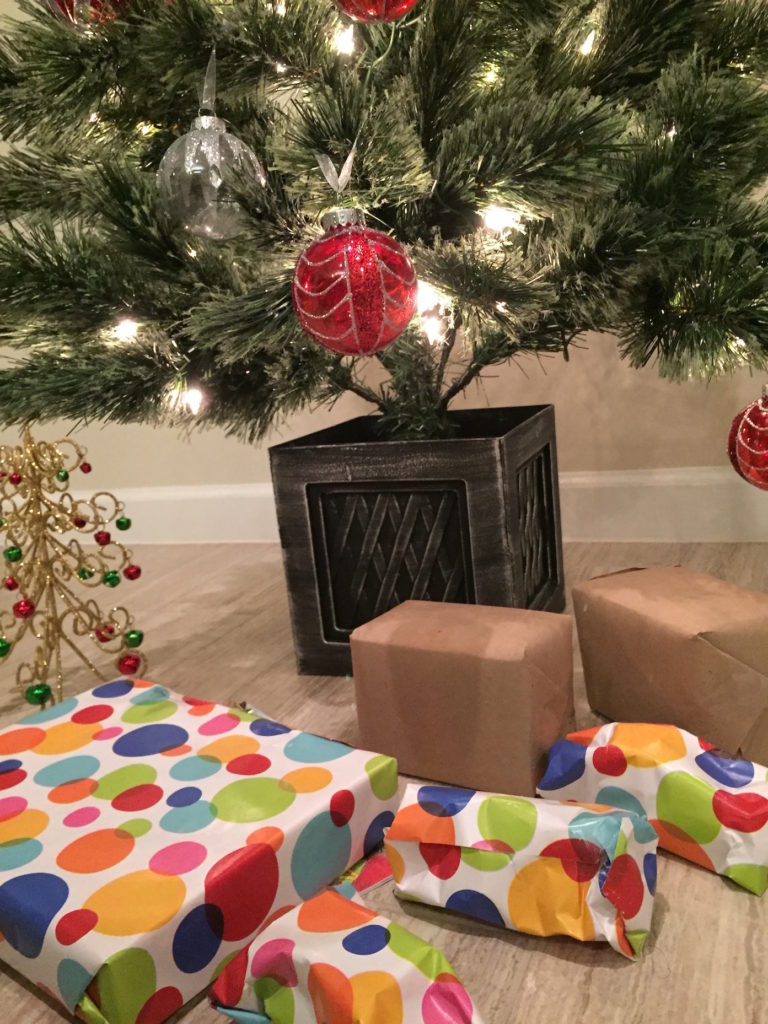 Christmas presents under a Christmas tree. #Christmas #ChristmasPresents #ChristmasTree