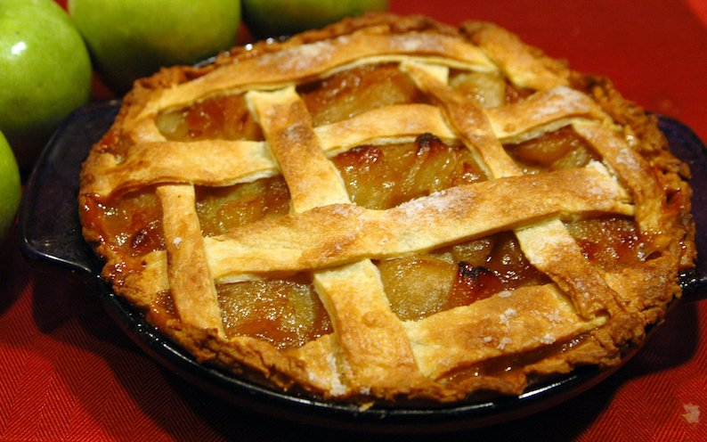 The smell of apple pie. #applepie