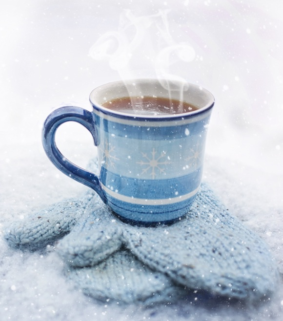A hot drink in winter. #hotdrink #winter