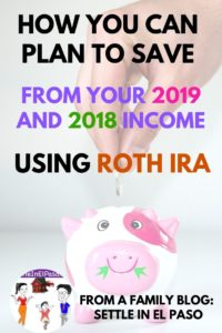 How to plan for saving with Roth IRA? #saving #moneysaving #retirement #familyplanning #familysaving #roth #rothira #money