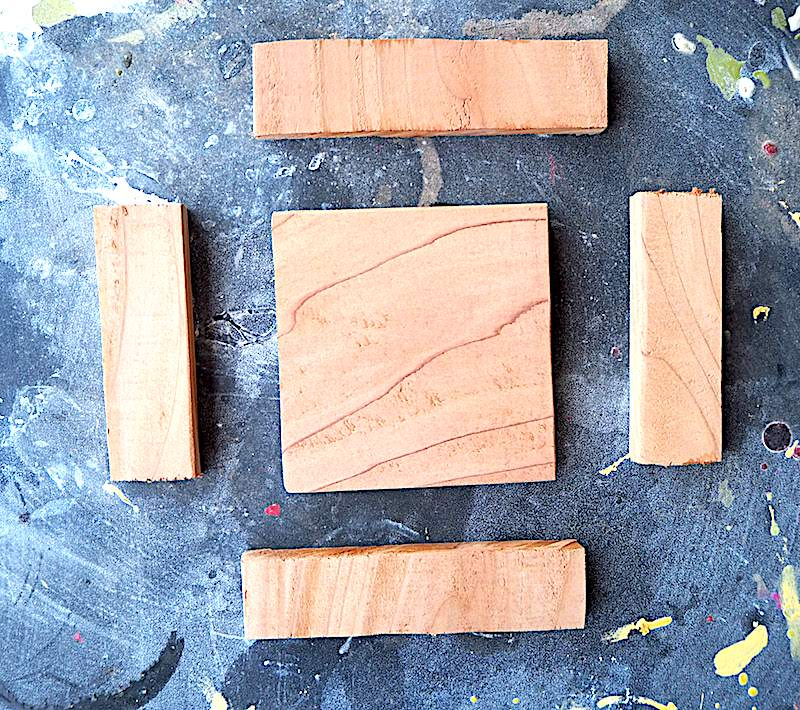I would like to make a small tray out of these pieces of wood. #woodworking