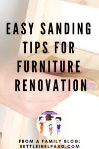 Sanding tips for furniture renovation. How to do sanding to give a professional look. Sanding gives a finer finish to wood furniture. The post provides some tips on sanding techniques. #sanding #woodworking #woodwork #HomeDecorFurnitureTips #furnituredecor #furniturediy #diyFurnuture