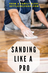 Sanding gives a finer finish to wood furniture. New to old --- any furniture can be renovated starting by sanding. The post provides some tips on sanding techniques. #sanding #woodworking #woodwork #HomeDecorFurnitureTips #HomeDecorTips
