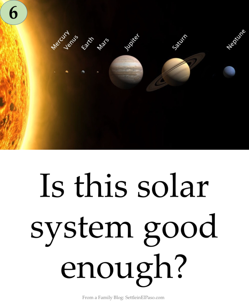 What is missing in the picture of the solar system? Preparation for G/T using RIAS assessment.
