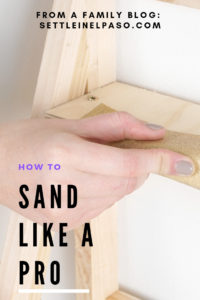 How to do sanding to give a professional look. Sanding gives a finer finish to wood furniture. The post provides some tips on sanding techniques. #sanding #woodworking #woodwork #HomeDecorFurnitureTips