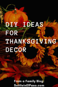 DIY Ideas for Thanksgiving Decor. #Thanksgiving #ThanksgivingDecor #FallDecor #HomeDecor