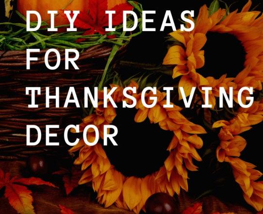 DIY Ideas for Thanksgiving Decor. #Thanksgiving #ThanksgivingDecor #FallDecor #HomeDecor