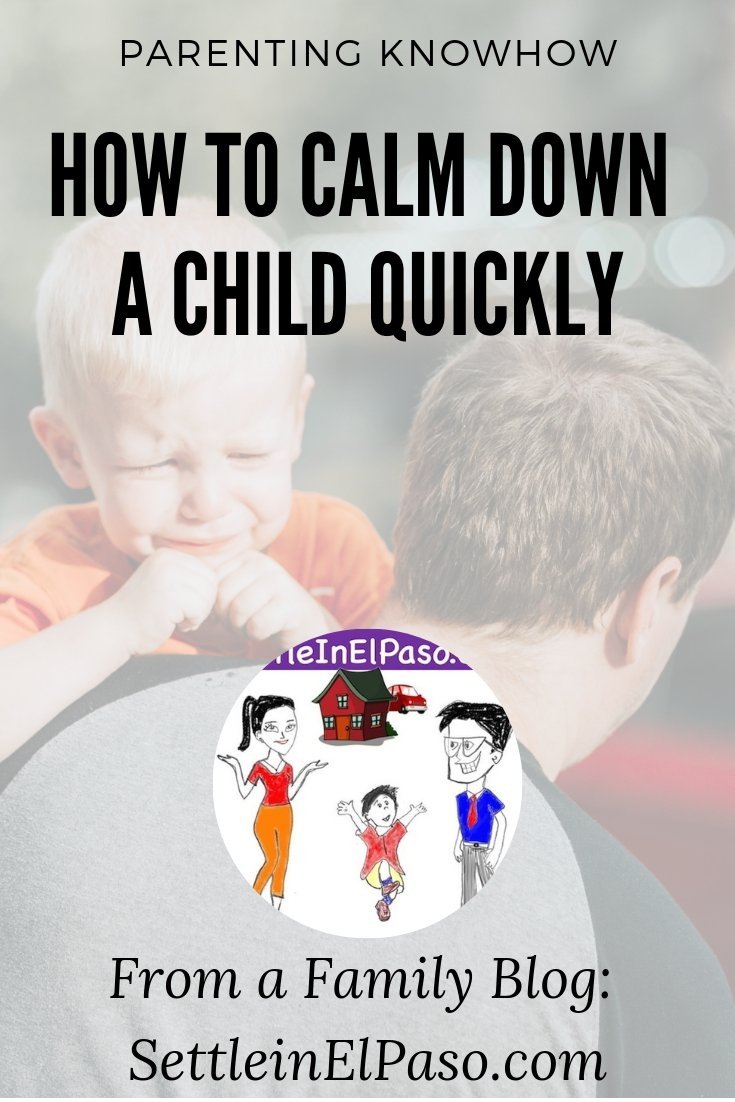 How to calm down a child, during a temper tantrum episode. #parenting #temperTantrum #ForKids #Kids