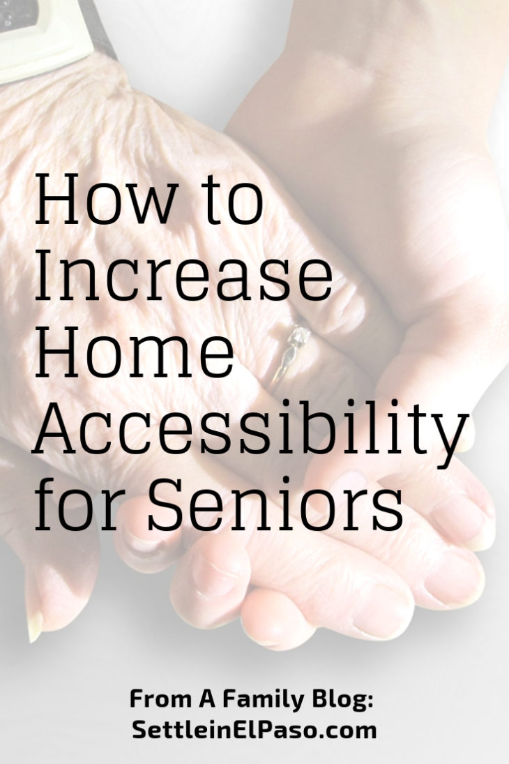 How to increase accessibility for seniors. #accessibility #senior