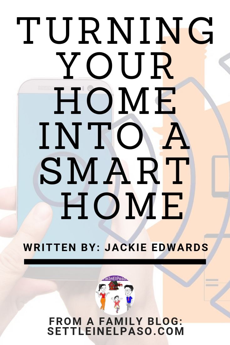 Turning a home into a smart home. For the convenience and energy-saving a family may choose to turn their home into a smart home. #home #smarthome #family