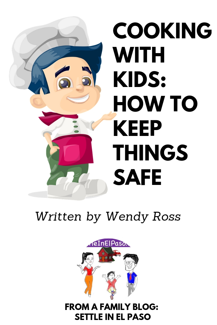 Cooking with kids is a great way to help them learn independence, responsibility, and even school-related skills like math and science. Many children love being in the kitchen, especially during holidays when there are so many fun things to bake. However, it's important to remember that young ones may not know kitchen safety. #parenting #kids #safety #awareness