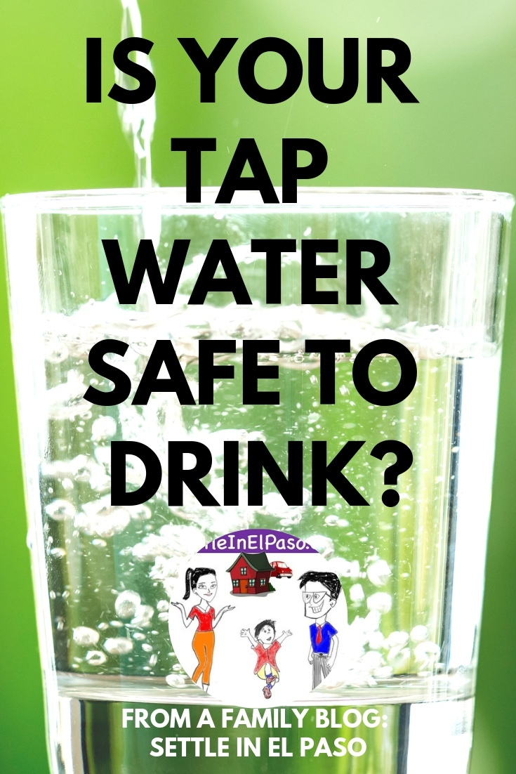 Is the tap water of your city safe to drink? The article provides some guidelines of determining if the city water is safe. #safety #familysafety #drinkingwater