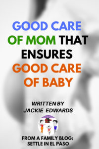 Taking good care of mommy is essential at all times to ensure good care of the baby. #Pregnancy #child #baby #family #momcare #formom