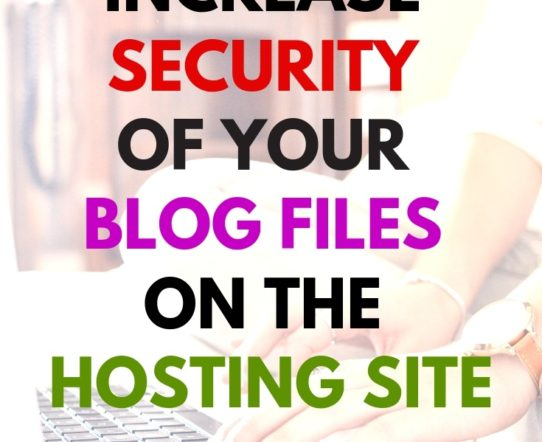 Server File Access Permissions bloggers need to be familiar with. The article describes how to increase the security of the blog files that are stored on the hosting site. #blogging #website #security #websecurity #blogSecurity