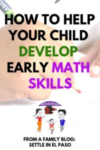 How to help your child develop early math skills. #education #childdevelopment #parenting #math #mathfun #mathisfun #forkids #kindergarten #elementary #firstgrade #secondgrade