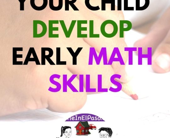 How to help your child develop early math skills. #education #childdevelopment #parenting #math #mathfun #mathisfun #forkids #kindergarten #elementary #firstgrade #secondgrade