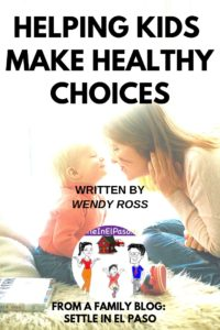 Helping your kids make healthy choices isn't always easy, especially when everyone is busy and time is so short. #parenting #forkids #kids #children #ChildDevelopment