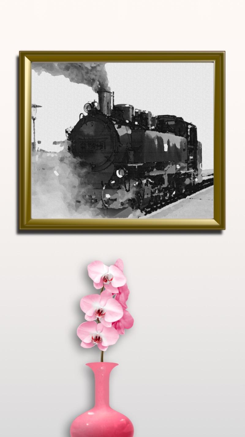 Locomotive printable. #printable #downloadable