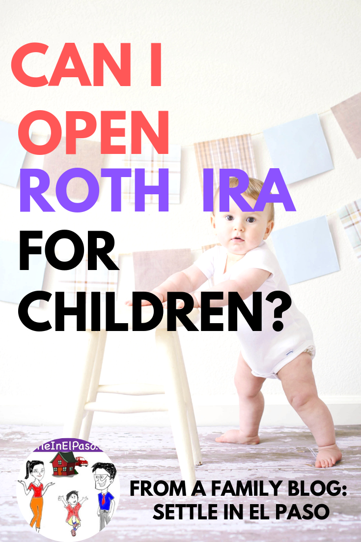 Is it possible to open a Roth IRA for a child? You might be wondering retirement plan is just for grownups. This is not correct. Money-planning can start from infant-stage.  #parenting #family #babies #money #saving