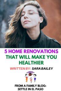Renovation Ideas for Healthier Life